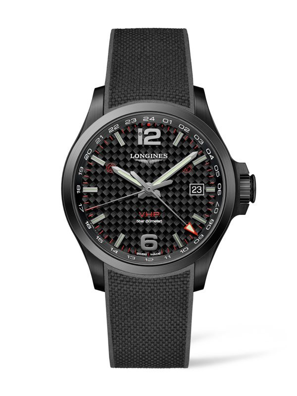 LONGINES Conquest V.H.P. GMT 43mm L3.728.2.66.9