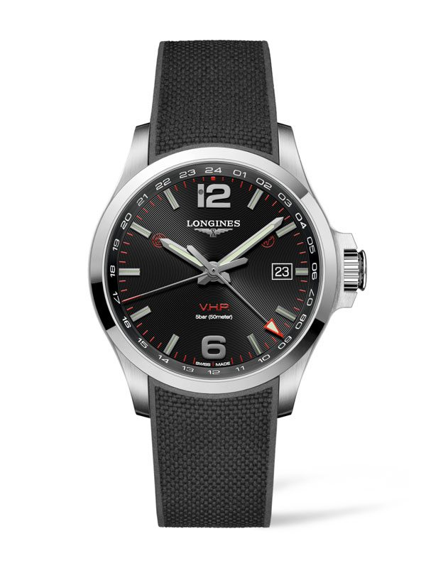 LONGINES Conquest V.H.P. GMT 43mm L3.728.4.56.9