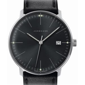 JUNGHANS max bill Quarz 041/4465.00 (041/4465.04) 38mm