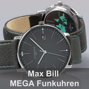 MAX BILL MEGA Funkuhren