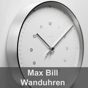 MAX BILL Wanduhren