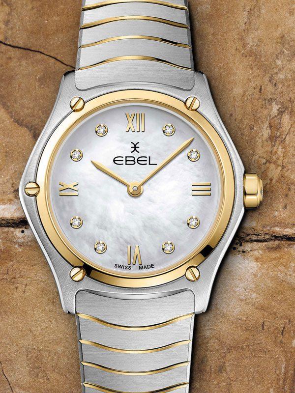 EBEL Sport Classic Lady 1216388A Quartz Damenuhr