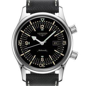 LONGINES Legend Diver Watch L3.374.4.50.0