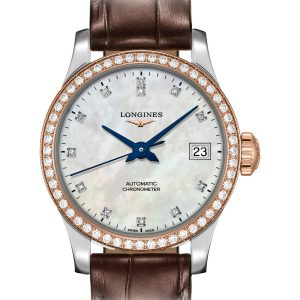 LONGINES Record L2.320.5.89.2 Damenuhr Chronometer