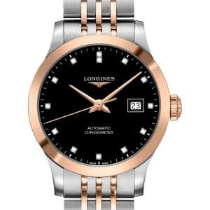 LONGINES Record L2.321.5.57.7 Damenuhr Chronometer