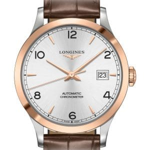 LONGINES Record L2.820.5.76.2 Herrenuhr Chronometer