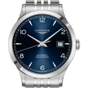 LONGINES Record L2.821.4.96.6 Herrenuhr Chronometer