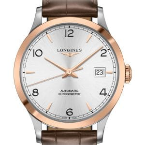 LONGINES Record L2.821.5.76.2 Herrenuhr Chronometer
