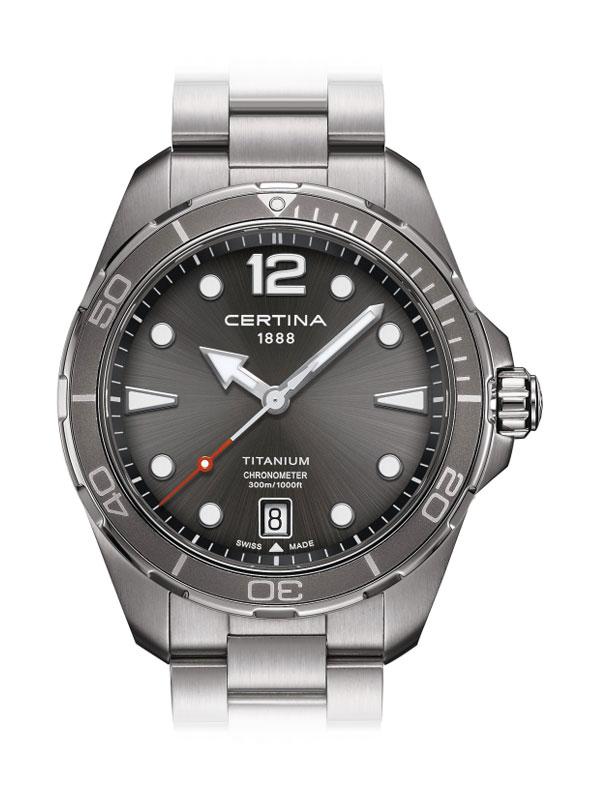 CERTINA DS Action Diver C032.451.44.087.00 Titanium