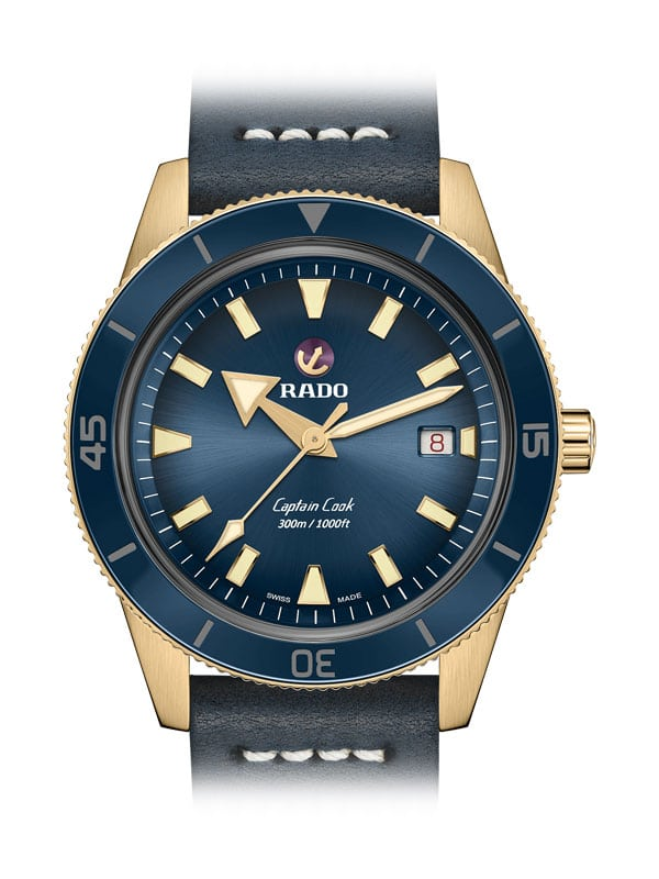 RADO Captain Cook Automatic Bronze R32504205 / 01.763.0504.3.120