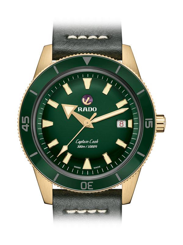 RADO Captain Cook Automatic Bronze R32504315 / 01.763.0504.3.131