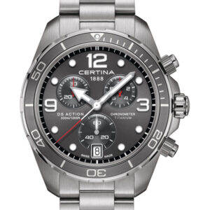 CERTINA DS Action Diver Chronograph C032.434.44.087.00 Titanium
