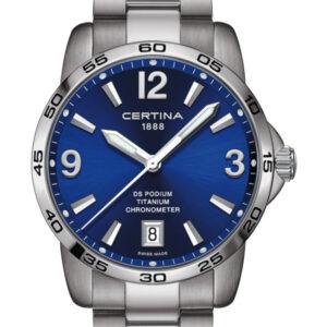 CERTINA DS Podium Gent Chronometer C034.451.44.047.00 Titanium COSC