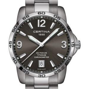 CERTINA DS Podium Gent Chronometer C034.451.44.087.00 Titanium COSC