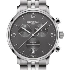 CERTINA DS Caimano Chronograph C035.417.44.087.00 Precidrive Titanium