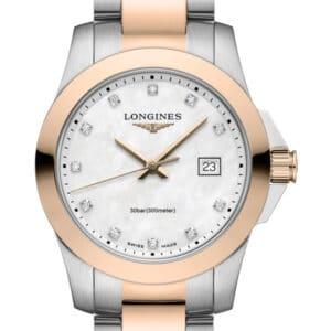 LONGINES Conquest Lady Quartz L3.376.3.88.7 Damenuhr