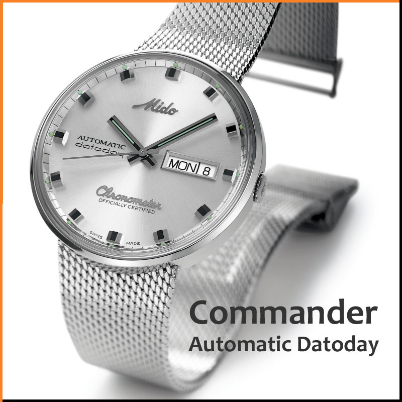 Mido Commander 1959 Automatic datoday
