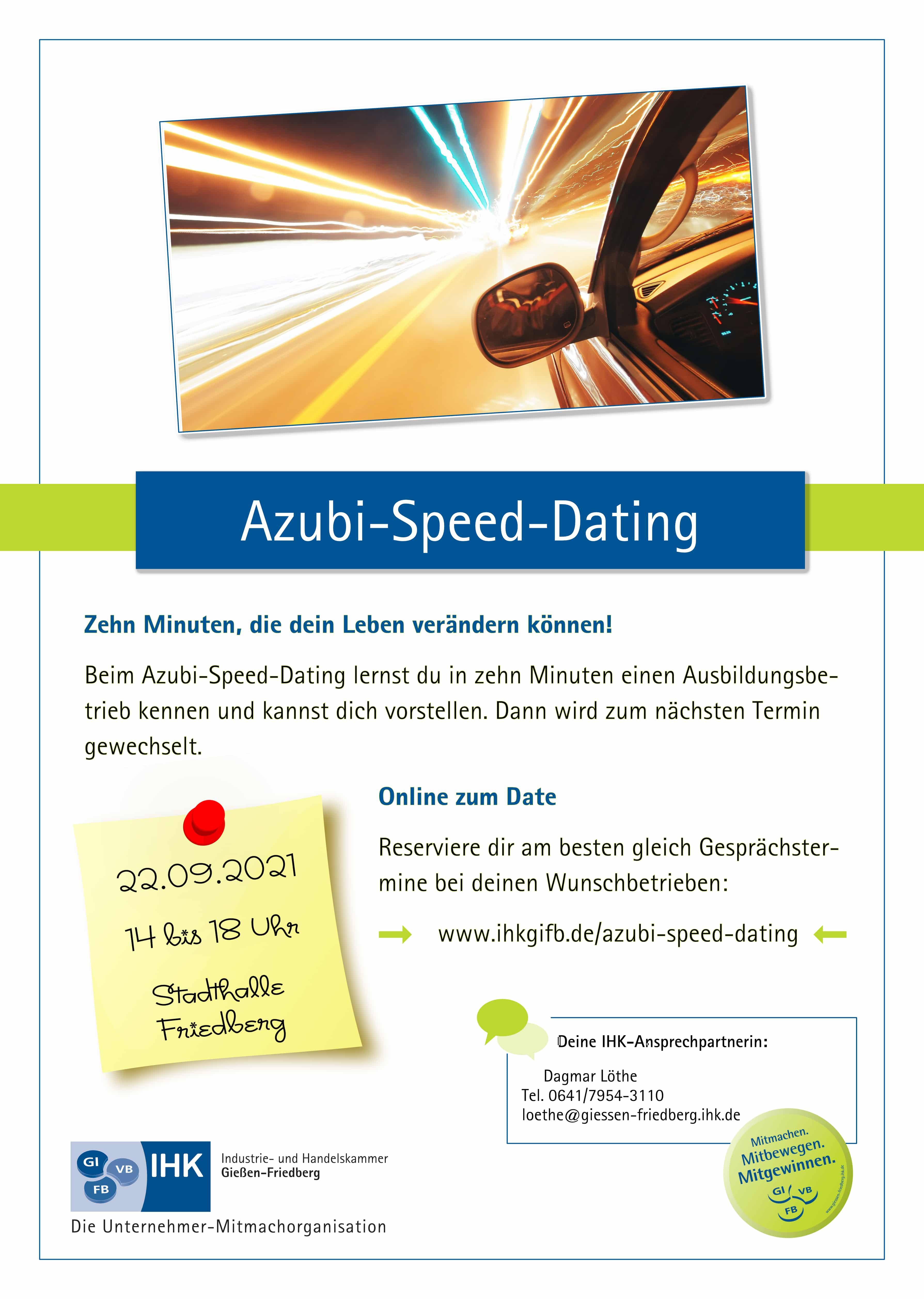 Azubi Speed Dating 22.09.2021