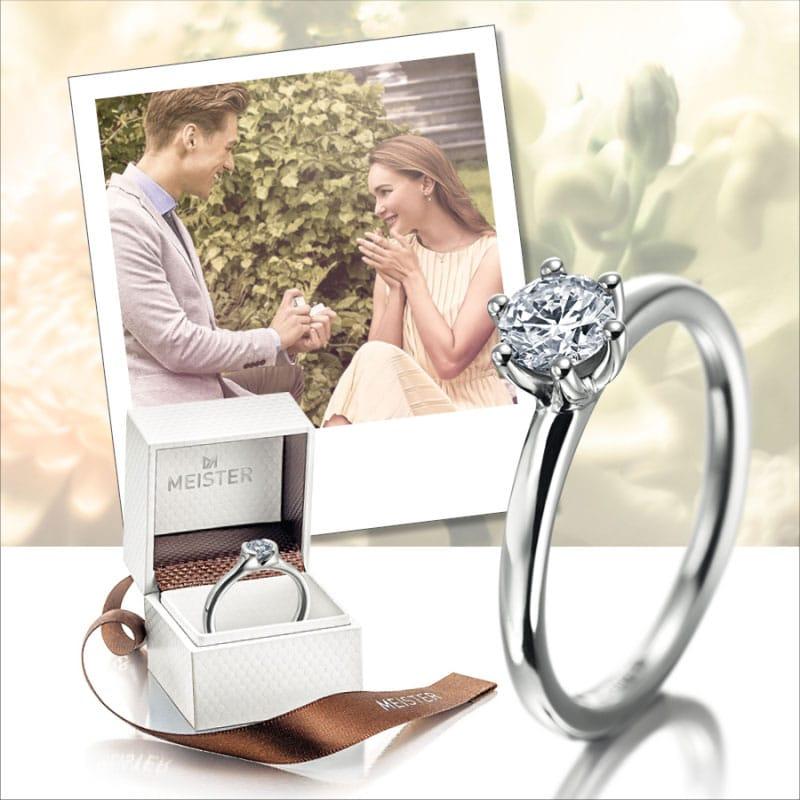 Meister Verlobungsring Antragsring Diamant 004