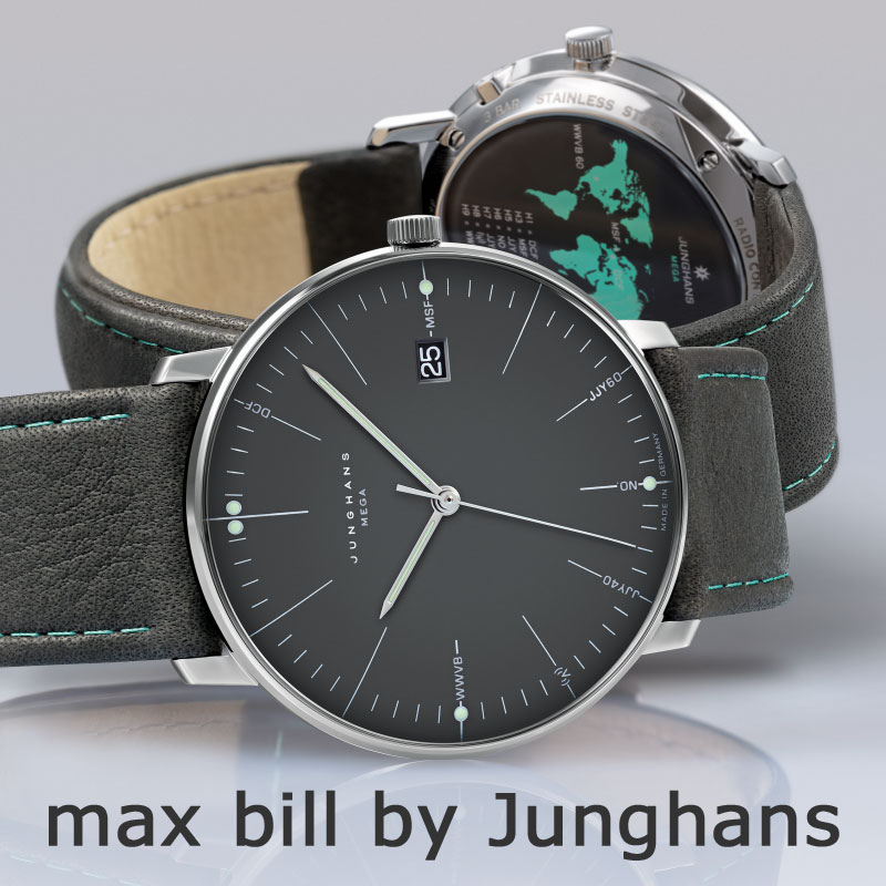 max bill by Junghans 2021